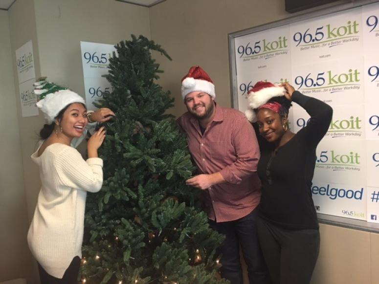 It's almost time! We've decorated the KOIT On Air Studio!! | KOIT.com