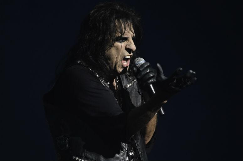 Alice Cooper performs at the Broward Center.