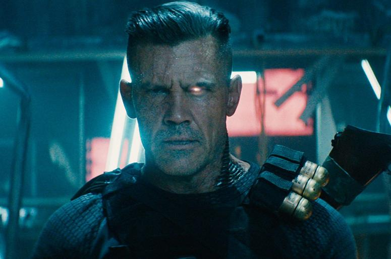 "Josh Brolin as Cable in ""Deadpool 2"""