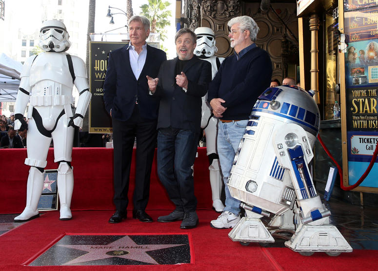 Mark Hamill Honored With Star On The Hollywood Walk Of Fame