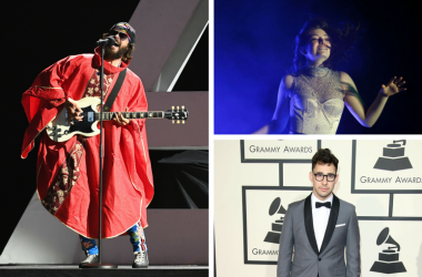 Jared Leto of Thirty Seconds to Mars, Lorde, Jack Antonoff of Bleachers