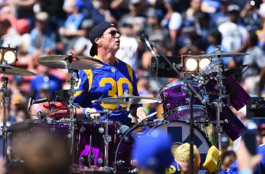 Chad Smith of Red Hot Chili Peppers