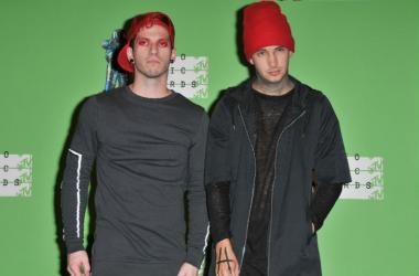 Josh Dun and Tyler Joseph of Twenty One Pilots
