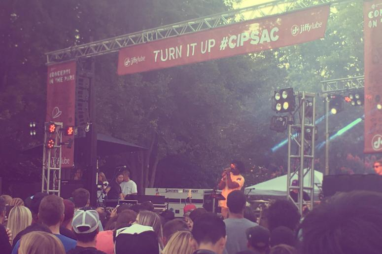 R.LUM.R, Concerts in the Park, Sacramento