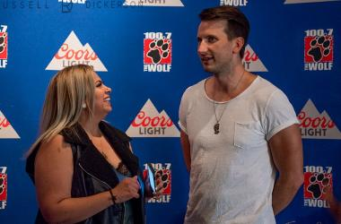 Ellen tailor, Russell Dickerson, 100.7 The Wolf, Seattle, radio, country music