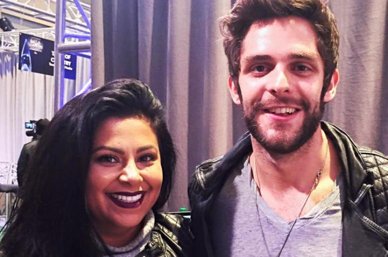 Ellen Tailor, Thomas Rhett, baby, announcement, Africa