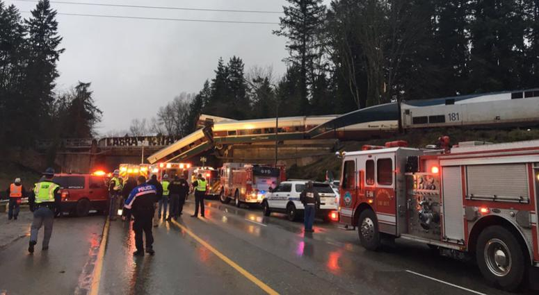 Amtrak train derails in Washington State; injuries, casualties reported