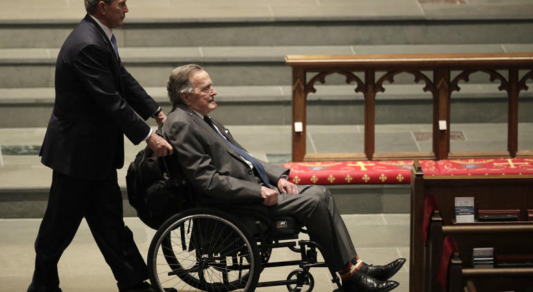 "Spokesman: George HW Bush ""responding and recovering"""