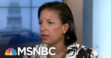 Susan Rice: 'I Leaked Nothing To Nobody' About Intelligence (Exclusive) | Andrea Mitchell | MSNBC