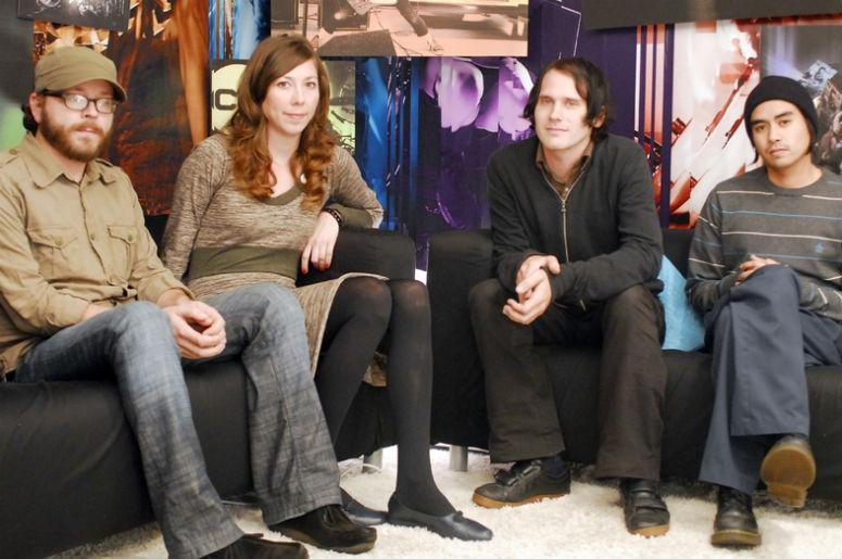 Silversun Pickups appearing on CD USA.