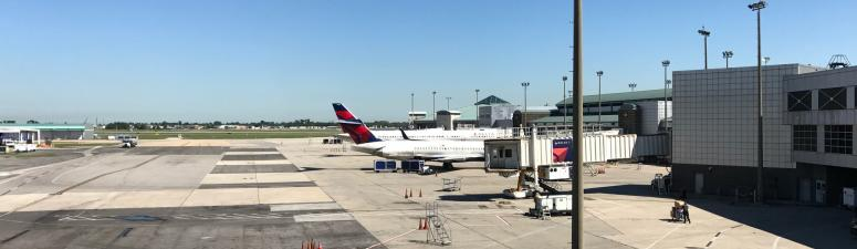 Armstrong International Airport up and running, but travelers should arrive early