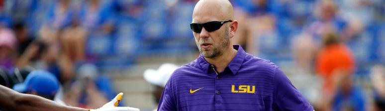 LSU searching for new offensive coordinator after Orgeron-Canada split