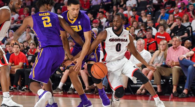 LSU's slim NCAA Tournament hopes go up in smoke in Georgia