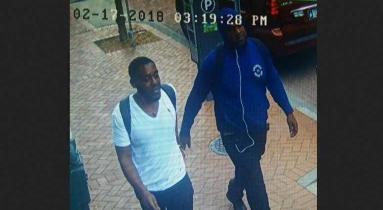 Cops looking for persons of interest in Warehouse District shooting
