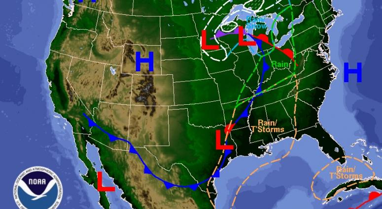 The Original Weather Blog Severe Storms Across The Plains US - Us weather map today