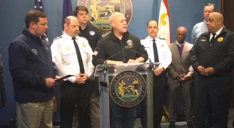 Landrieu, Yenni provide update on weather & drinking water