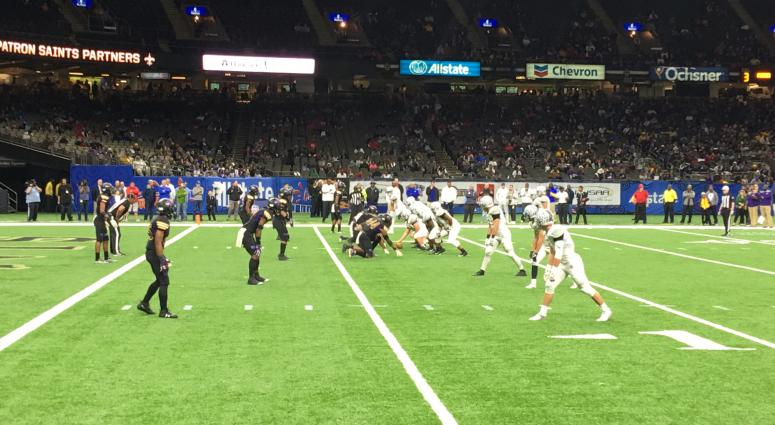 Edna Karr defeated Lakeshore 48-26 in the 2017 Class 4A state championship football game