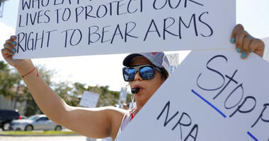 Florida, angry and grieving, takes gun protest to streets