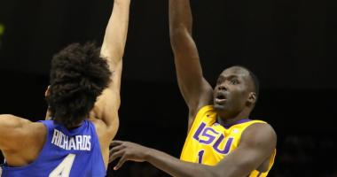 LSU goes cold from deep in 74-71 loss to Kentucky