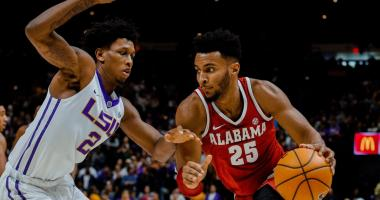 Crimson Tide clamps down on LSU and beats the Tigers 74-66