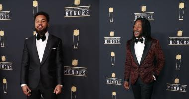 Kamara, Lattimore first rookie teammates to win top honors since 1967