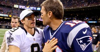 Drew Brees Tom Brady