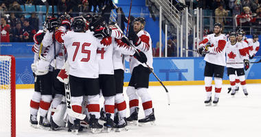 The Latest: Canada wins hockey bronze with win over Czechs