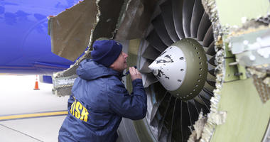 The Latest: Investigators say crack in engine led to failure