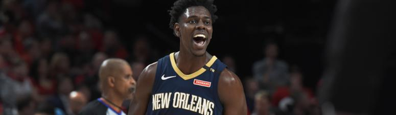 Pelicans host Portland in 1st home playoff game since 2015