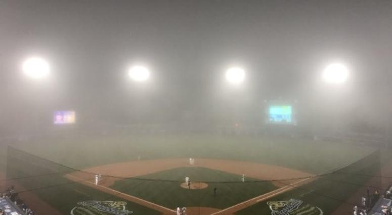 LSU-Florida game suspended due to fog