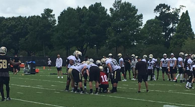 Chase Daniel Saints mini camp 2017