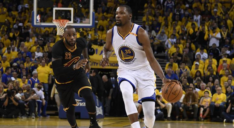 Kevin Durant LeBron James NBA Finals