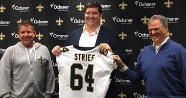 Zach Strief offers rookie minicamp observations