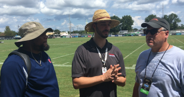 Bobby Hebert Seth Dunlap Deuce McAllister Saints training camp WWL Radio
