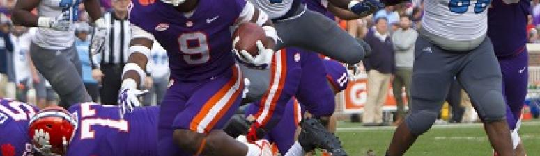 Clemson Routs The Citadel 61-3