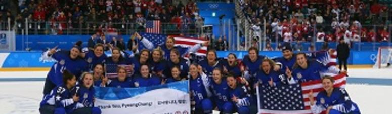US Women Win Gold In Hockey