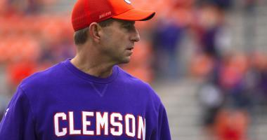 Swinney Among Finalist For AP Coach Of the Year