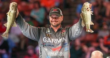 Christie Still Leads At  Bassmaster Classic