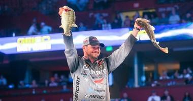 Christie Leads After Day One At Bassmaster