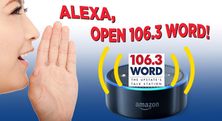 Listen to 106.3 WORD on your Amazon Echo