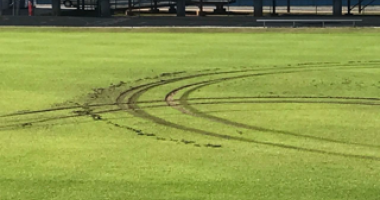 Athletic Fields Damaged At Woodmont HS