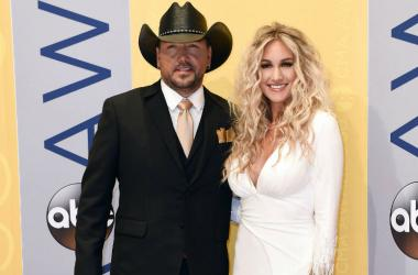 Jason Aldean and his wife Brittany Kerr