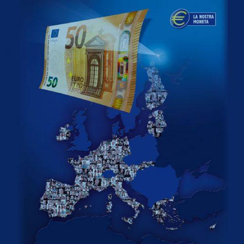 BCE, presentata la nuova banconota da 50 euro