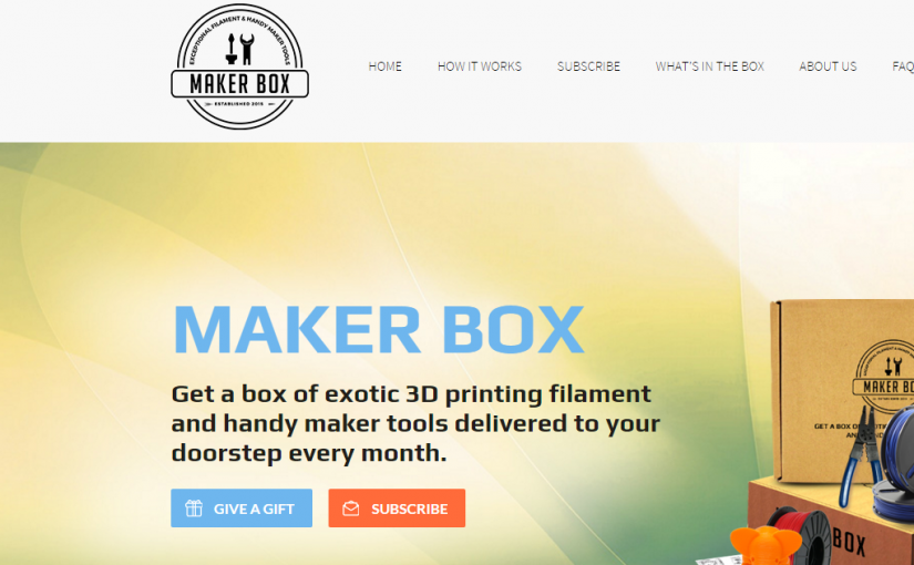 MakerBox.me – Not for me.