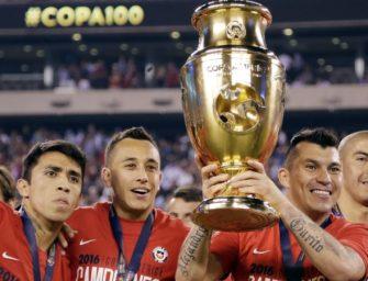 智利国家足球队获美洲杯冠军