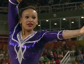 這女孩把碧昂絲帶進了奧運~成為最佳焦點
