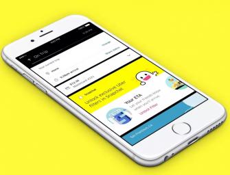 優步更新應用,增加 Snapchat 濾鏡和好友定位
