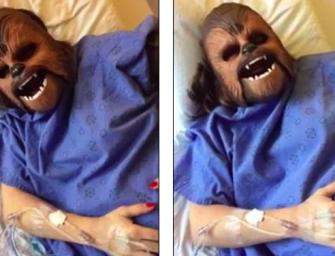 『視頻』懷孕媽媽的精神良藥!居然是個當紅猩猩面具!