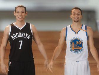 NBA球星也祝大家新年快樂! Curry、林書豪秀蹩腳中文