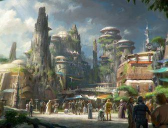 迪士尼星球大戰主題公園確定開幕時間啦!大家~再等兩年!